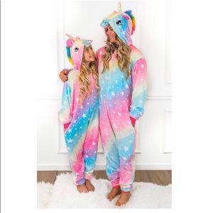 Unicorn Onesie for Women Costume Onsie Pajamas